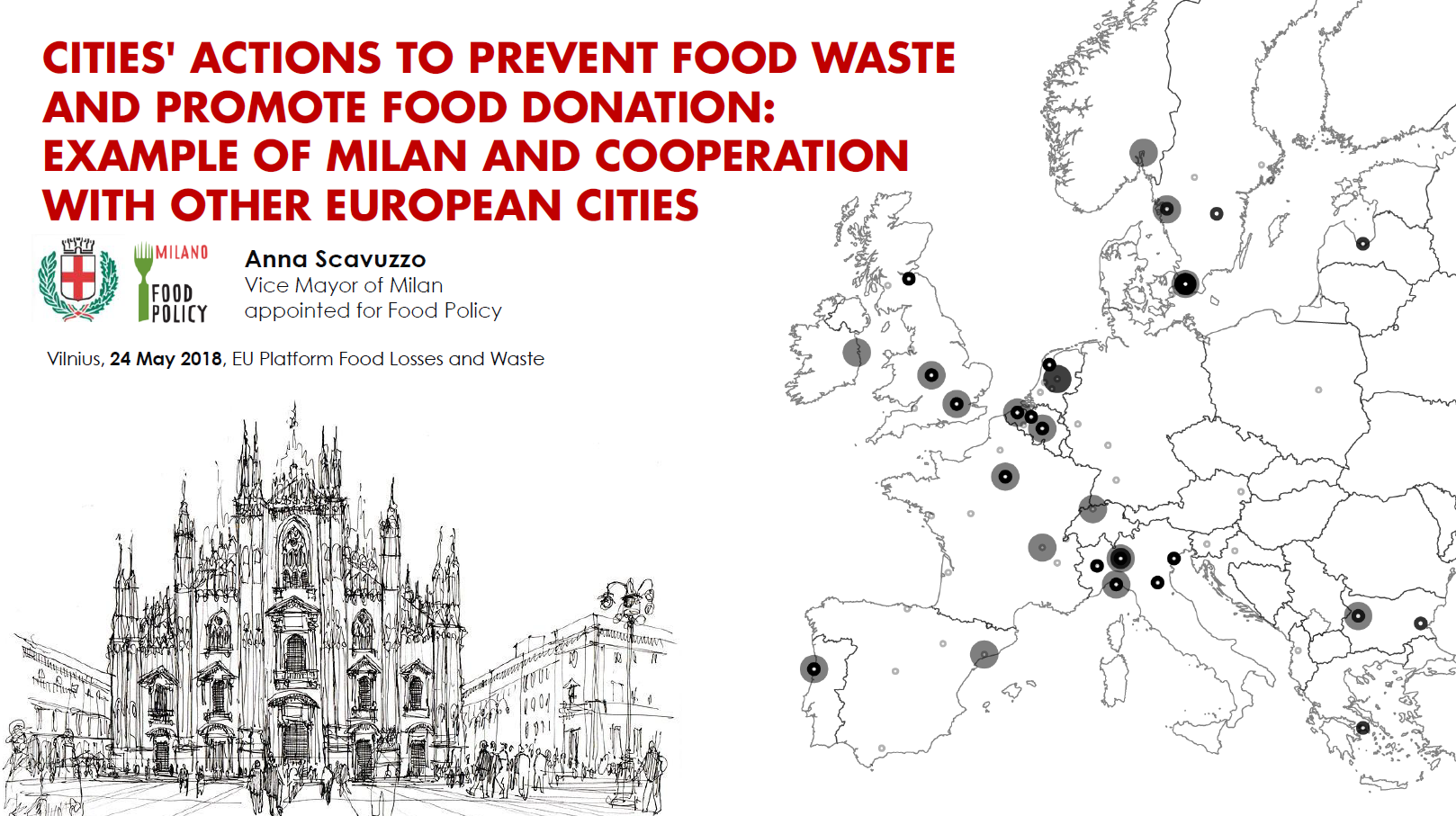 Anna Scavuzzo, Vice Mayor of Milan in charge for Food Policy